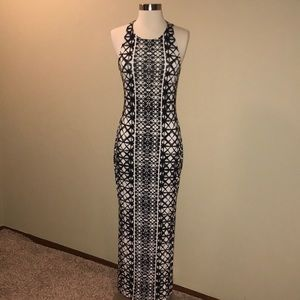 NWOT👗Double Slit Floor Length Dress